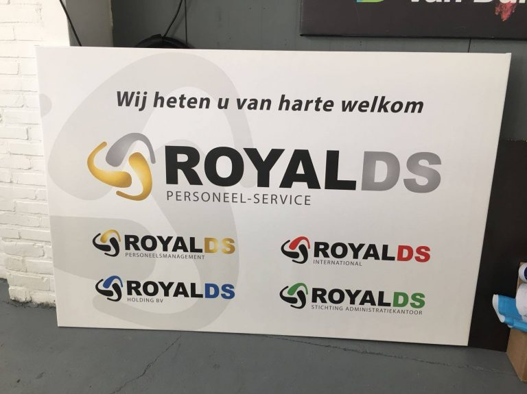 Reclamebord.RoyalDS
