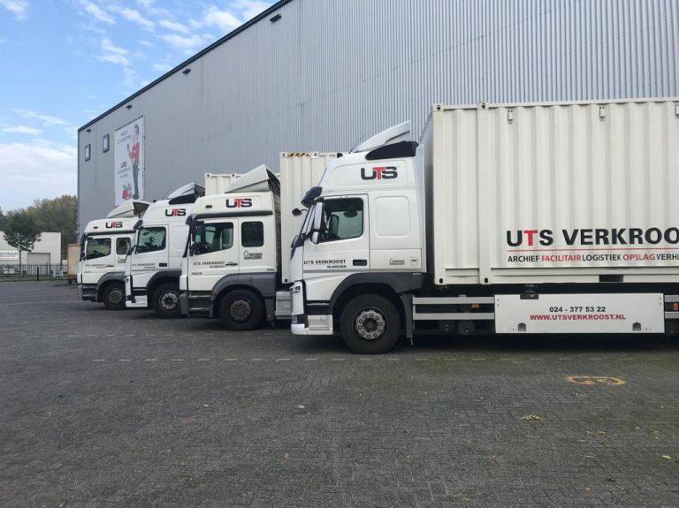 UTS.Vrachtwagenreclame